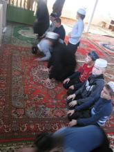 Детские голоса в Мечети
